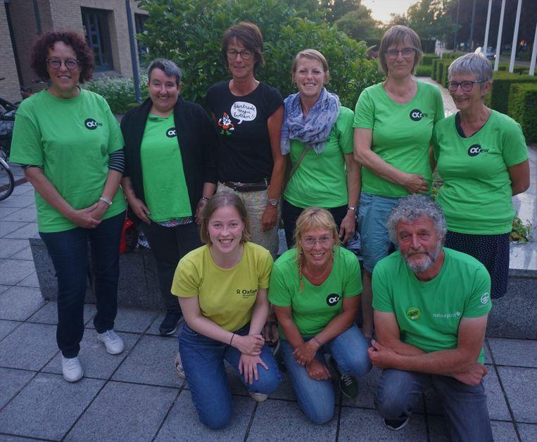 Sympathisanten van de Oxfam-Wereldwinkel woonden de gemeenteraad bij