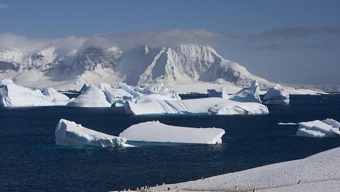 Beeld van de Zuidpool