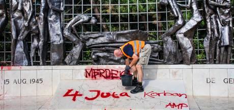 Schok na bekladding Indisch Monument: 'We herdenken juist álle slachtoffers'