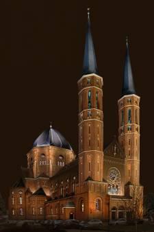 Udense Petruskerk kan shinen als de kathedraal van Amiens