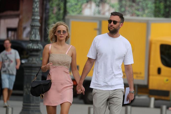 Jennifer Lawrence et Cooke Maroney.