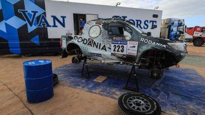 Erwin Imschoot wordt knap achtste in Africa Race