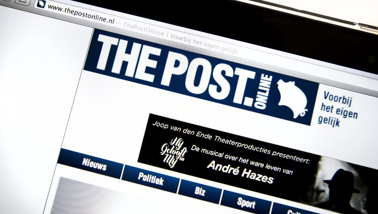 The Post Online. Beeld anp