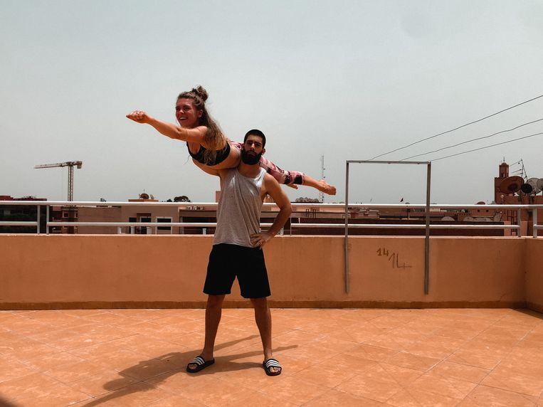 Robin en Manon zitten nog steeds vast in Marrakech.