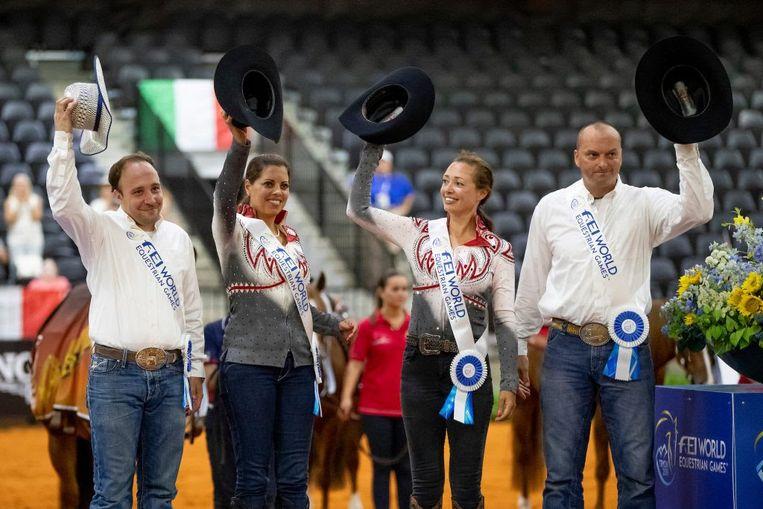 Dries Verschueren - Cira Baeck - Ann Poels-Fonck - Bernard Fonck.
