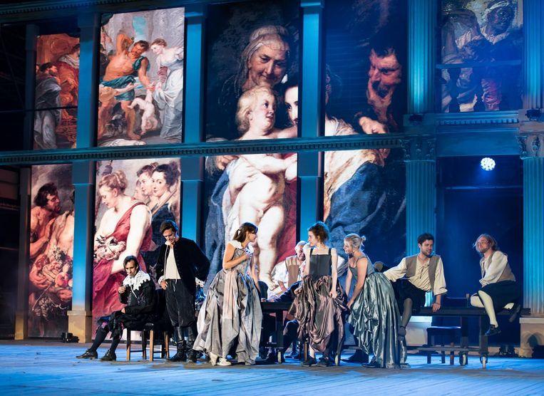 De musical Rubens lokte afgelopen zomer zo'n 30.000 toeschouwers naar Kasteel de Merode.