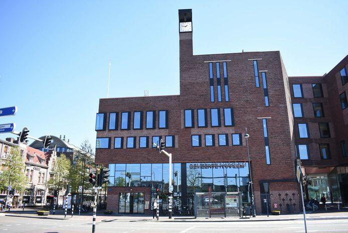Het gemeentehuis van Haarlem