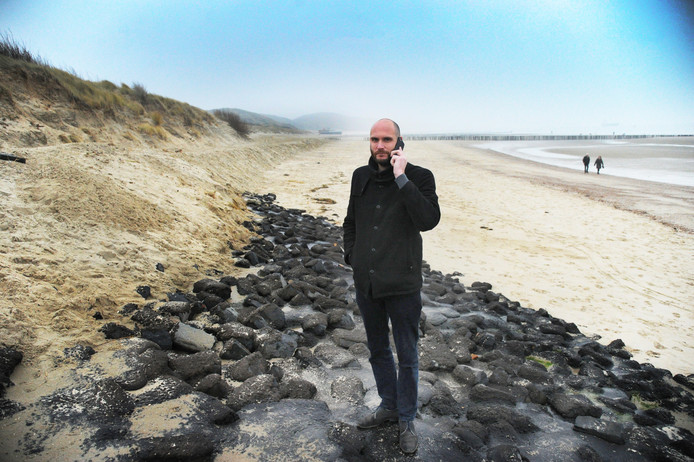 Tim Wouters van Stichting Strandexploitatie Veere.
