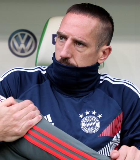 Bayern reist zonder Ribéry af naar Griekenland