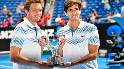 Fransen Mahut en Herbert winnen nu ook dubbeltoernooi in Melbourne
