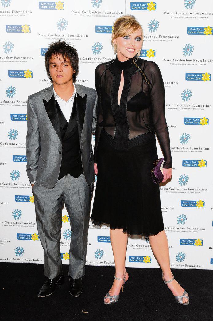 Jamie Cullum en Sophie Dahl, voorbeeld van een niet-assortatief koppel.