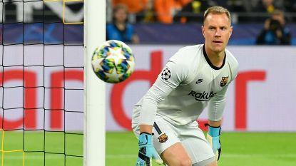 Geen goals in Dortmund: Ter Stegen houdt Barcelona recht