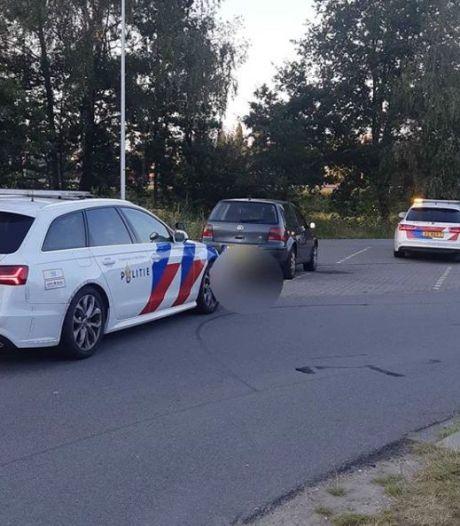 Trage bestuurder op A1 bij Apeldoorn wordt voor de zesde keer gepakt zonder rijbewijs