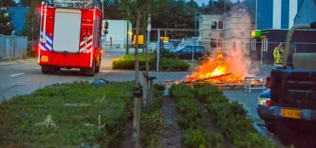 Industriebrand blijkt vreugdevuur in Maarheeze