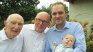 Julien zorgt voor viergeslacht bij familie Ginneberge