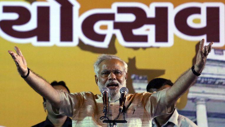 Narendra Modi Beeld EPA