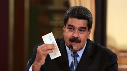 Venezolaanse president verhoogt minimumloon opnieuw met 3.500 procent
