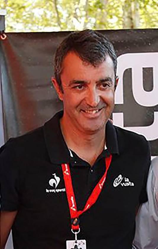 Vuelta-baas Javier Guillén.