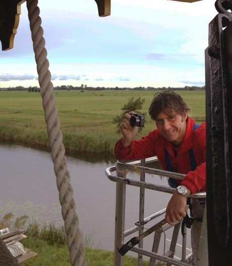 Schilder ontwikkelt passie voor molens: 'de camera gaat altijd mee'