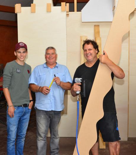 Van wei naar Middeleeuws kasteel: weinig slaap voor festivalbouwers 9Zero in Deurne