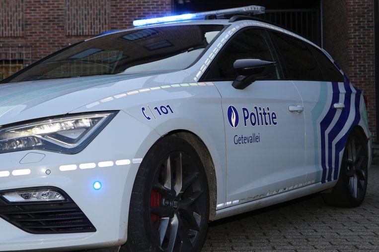 De politie kwam ter plaatse voor de nodige vaststellingen van het ongeval
