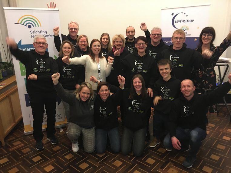 Het team achter Levensloop Eeklo.