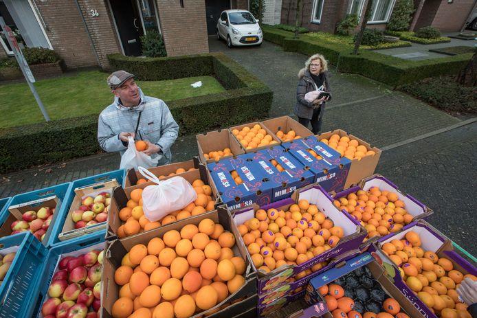 Fruitboer Barry van der Plas uit Hapert.