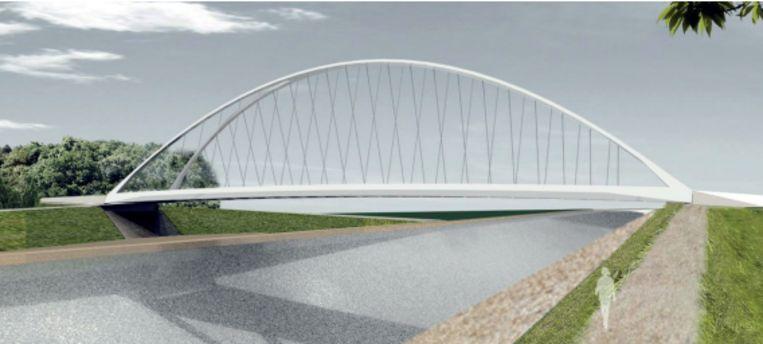 Zo zal de nieuwe Hoogmolenbrug eruitzien.