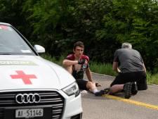 Thomas klimt weer op de fiets in voorbereiding op de Tour