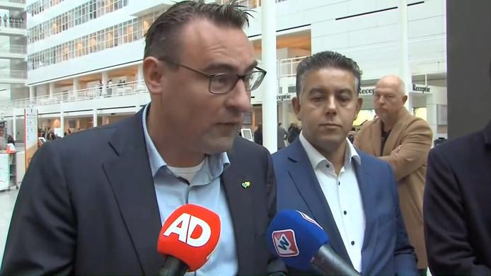 Richard de Mos en Rachid Guernaoui bieden ontslag als wethouders aan.
