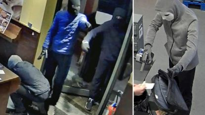 Politie zoekt drie daders voor brutale overvallen in Wemmel