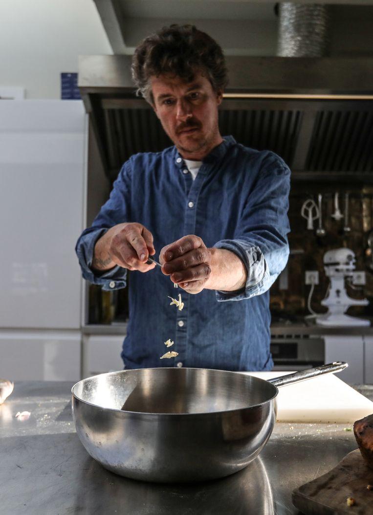 De start van een zeeïg soepje. Beeld Eva Plevier