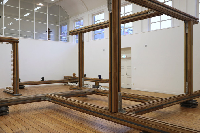 De installatie van Jonas Wijtenburg in PARK. Foto Rob Moonen