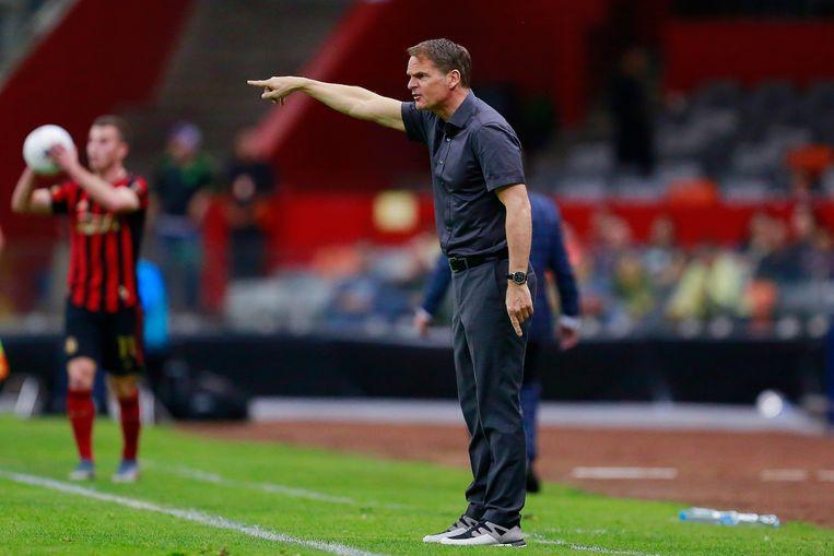 Frank de Boer, coach van Atlanta United. Beeld Getty Images