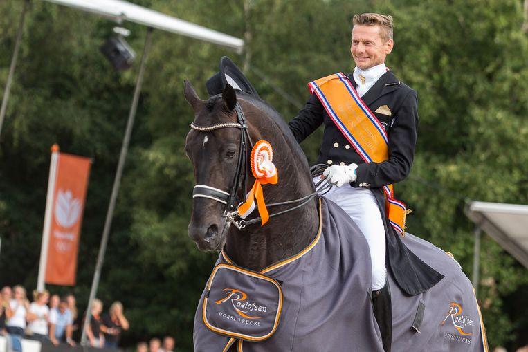 Edward Gal met Zonik tijdens het NK Dressuur Beeld OrangePictures  / Marcel van den Bos