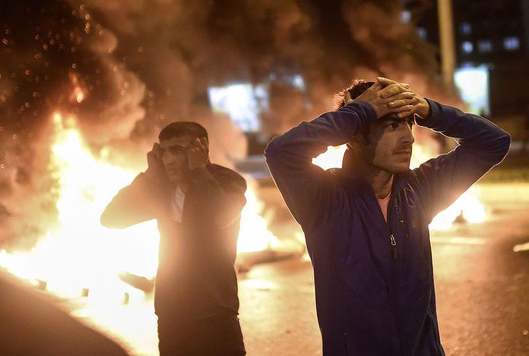 In de zuidoostelijke stad Dyarbakir kwam het tot ongeregeldheden tussen Koerdische demonstranten en de oproerpolitie.