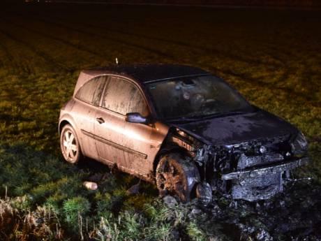 Automobilist verliest macht over het stuur in Nieuwerbrug