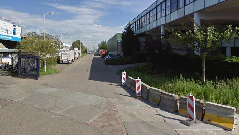 De Moezelhavenweg in Amsterdam. Beeld Google Street View