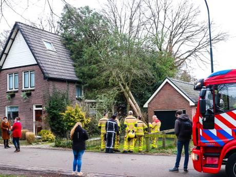 Storm Dennis laat in Oost-Nederland vooral de brandweer zweten op de warmste 16e februari ooit gemeten