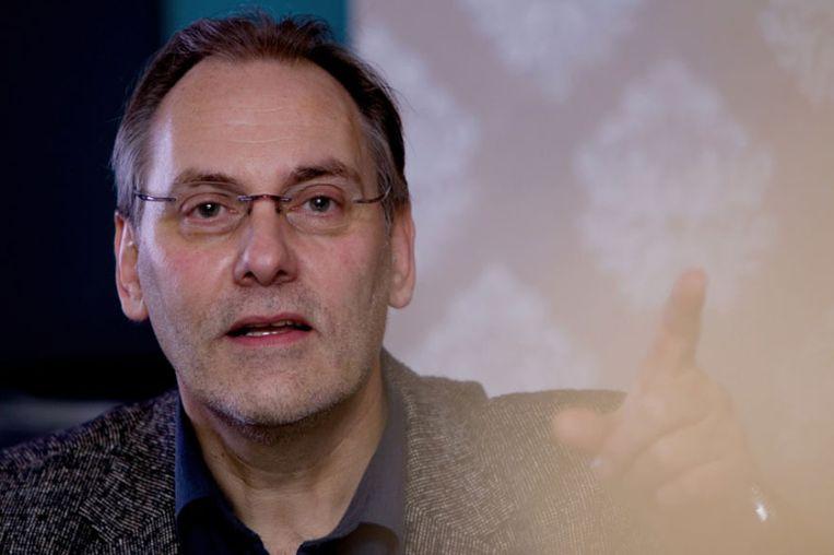 Laurens Borst, zendermanager Radio 1. Verantwoordelijk voor de programmering van de nieuwszender van de NPO. Beeld NPO