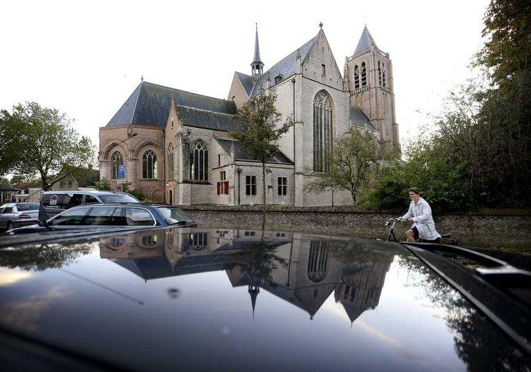Grote- of Onze Lieve Vrouwekerk in Tholen. Beeld ANP