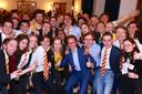 STIP Delft viert feest tijdens verkiezingsavond 2018.