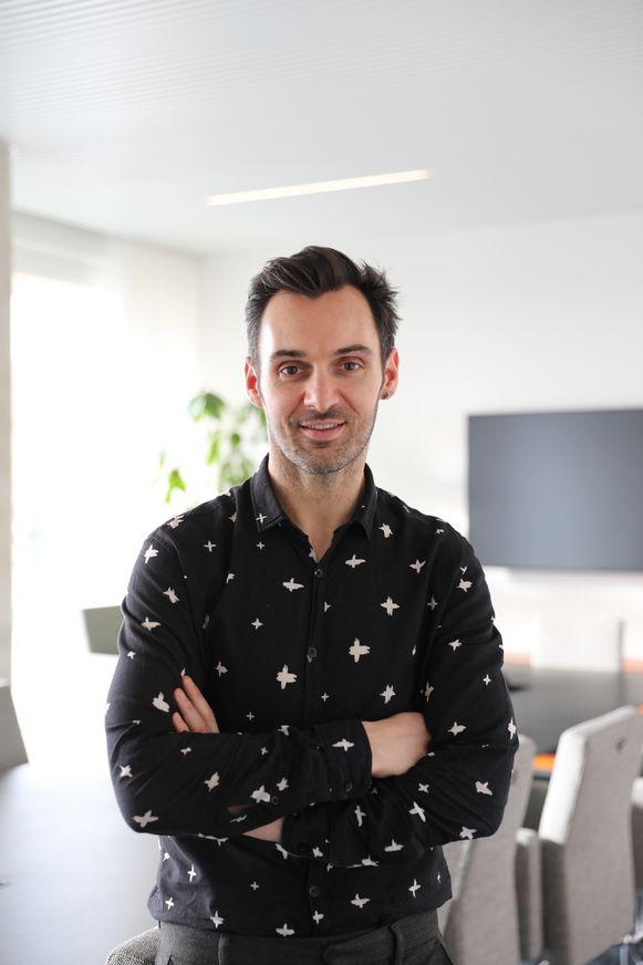 Modejournalist David Devriendt