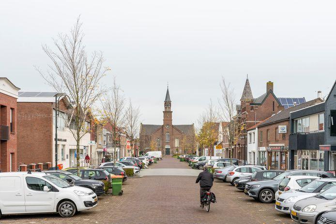 Het centrum van Fijnaart mag wel wat mooier en levendiger worden, vinden de bewoners.