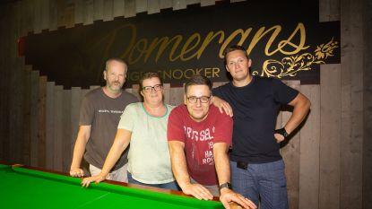 Snookerhal Pomerans investeert in nieuwe verwarmde competitietafels