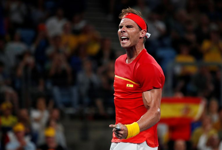 Nadal en Spanje nemen het zondag op tegen het Servië van Djokovic