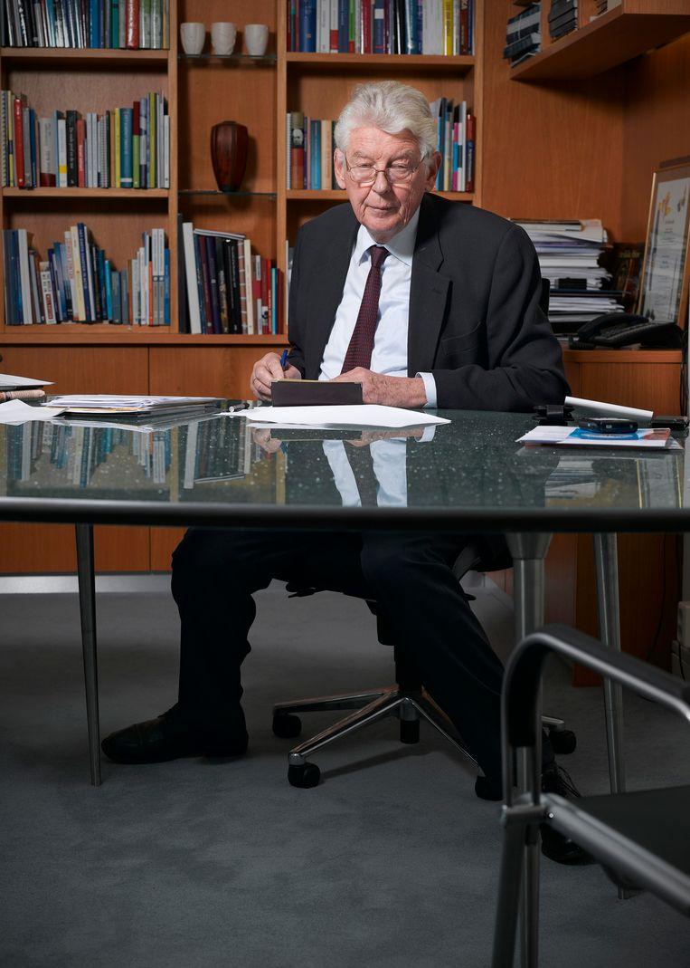 Wim Kok: 'Als mensen zeggen: die loopt te graaien, heb ik niet de behoefte om te zeggen dat dat niet zo is' Beeld Ilya van Marle