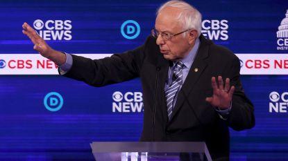 Bernie Sanders zondebok in chaotisch televisiedebat van Democraten