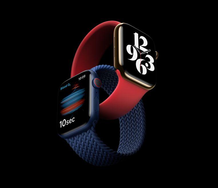 De nieuwe Apple Watch 6. Beeld EPA