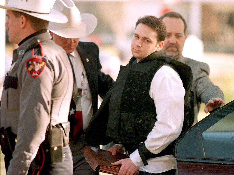 Een foto uit 1999 van dader John William King.